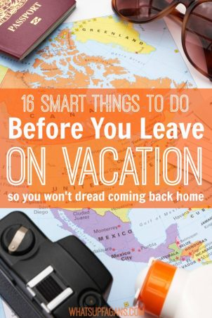 what to do before you leave on vacation