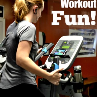 Such a great way to get your cardio exercise in! Hook up the Goji Play 2 on your aerobic cardio machines and play your way through it! Fun!