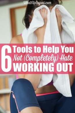 Yes! I don't want to run marathons, I just want to start working out without hating it! Love her tips for exercising that are completely doable. Here's to meeting fitness and health goals.