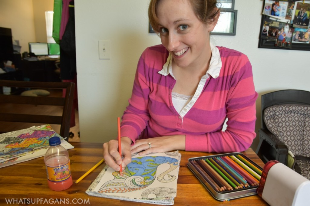 Adult Coloring books are a ton of fun for families and even for a date night in idea!