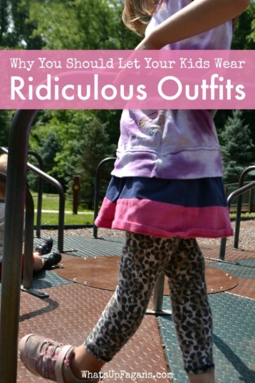 Some very good reasons why it is totally okay to let kids dress themselves and wear funny outfits and clothing in public! Got to love toddler independence!