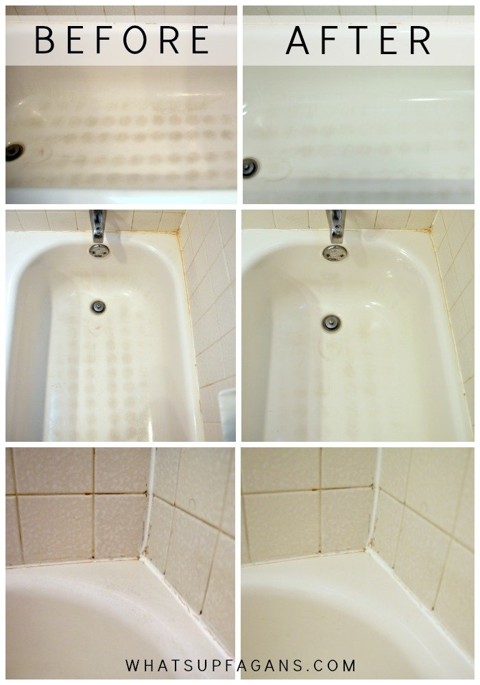 My Dirty Little Secret For A Sparkling Clean Bathtub