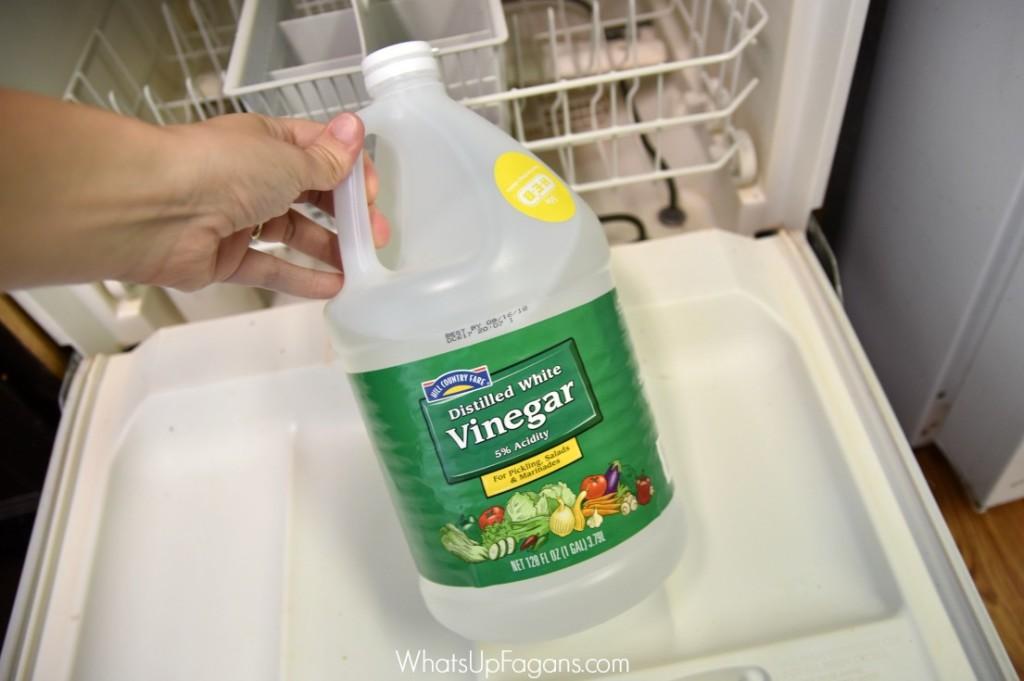 clean dishwasher tutorial