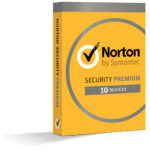 Norton Security Premium - 10 Devices - Scrubbed Box Shots