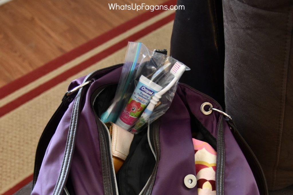 summer bedtime hack for oral care