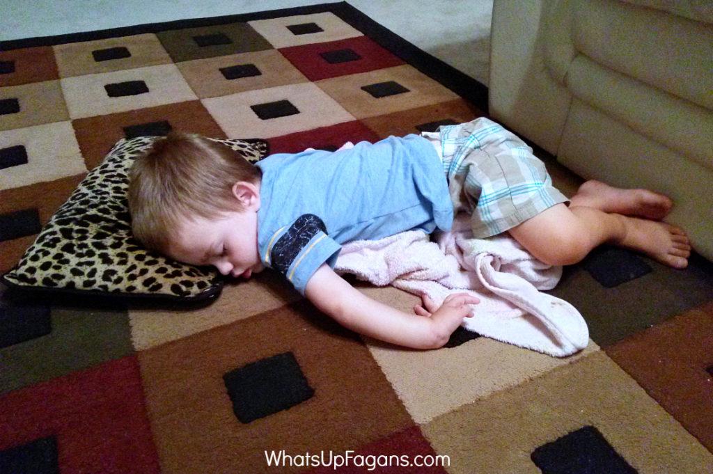 summertime sleep for toddlers