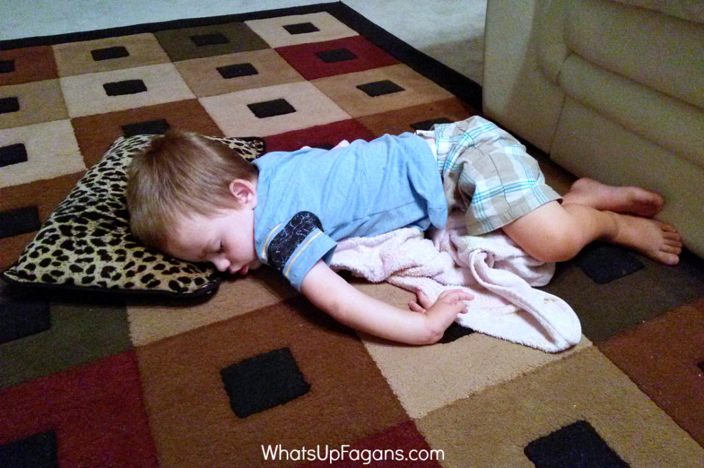 summertime sleep for toddlers
