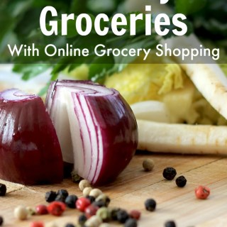 If you want to try out online grocery shopping, here's how to make it much more affordable! Save money on groceries without coupons or leaving home!