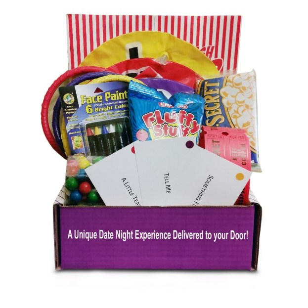 Datelivery - Carnival Date Night - Date Night in a Box! How easy does this make coming up with date ideas!! Perfect for dates at home.
