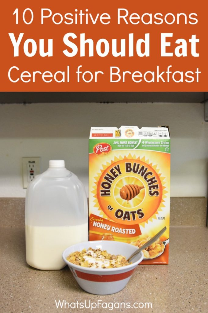 Breakfast cereals are amazing, and not just because they are sugary. Here are 10 REAL legit reasons why cereal makes the best breakfast meal.