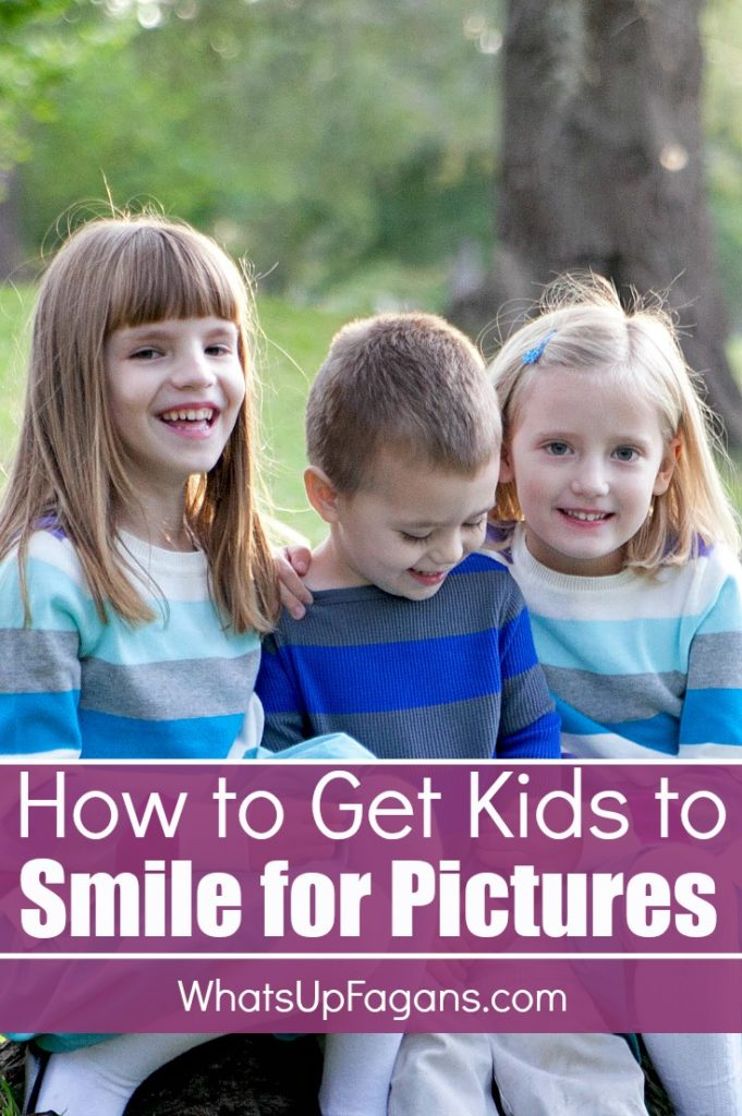 """If you want great tips on how to get children to smile for the camera that go beyond """"Say Cheese"""" this is a great list!"""