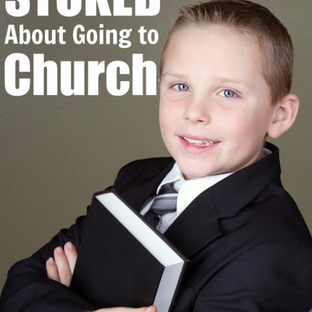 Great Christian parenting tip for keeping children going to church week after week! You really need to explain the why.