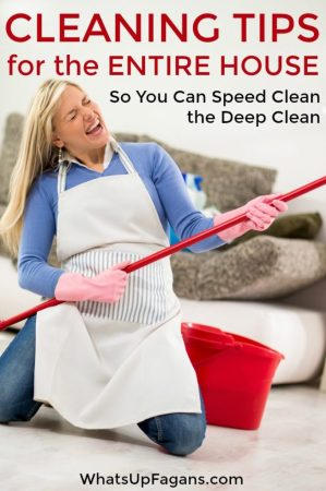 Cleaning Tips and Tricks for a Thoroughly Clean Home Cleaning tips so you know how to clean your house like a pro  It s speed