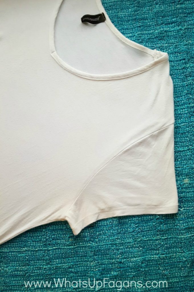 AFTER removing pit stains with OxiClean