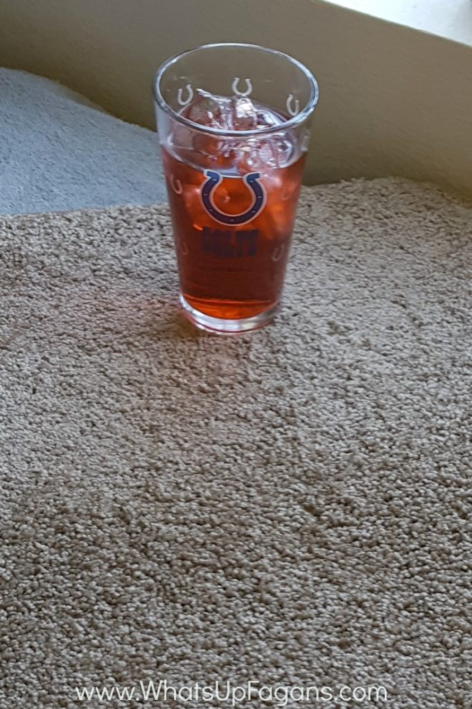 Getting kool-aid out of carpet