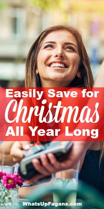 How to Save for Christmas All Year Long - Debt Free Christmas - Afford Holidays - Expensive - Saving Money - Cash Back Rewards Store Credit Cards - Christmas presents and gifts - Spending Money