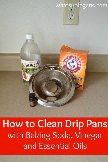 clean drip pans