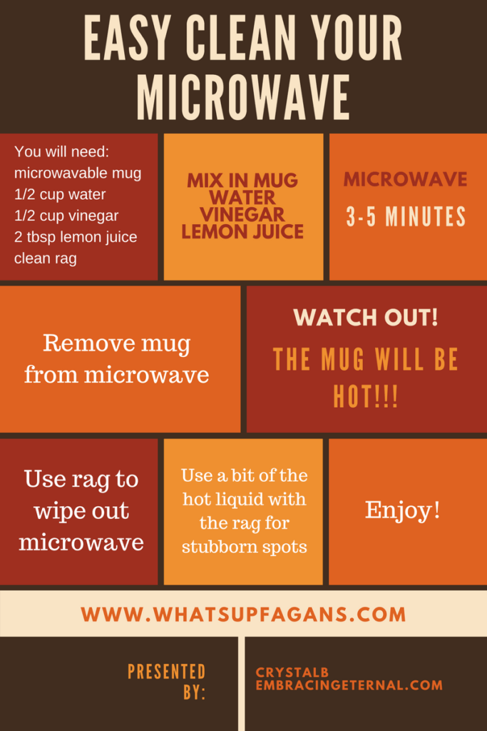 Easy Clean Your Microwave - How to Clean Microwave Easy Way - Vinegar and Lemon