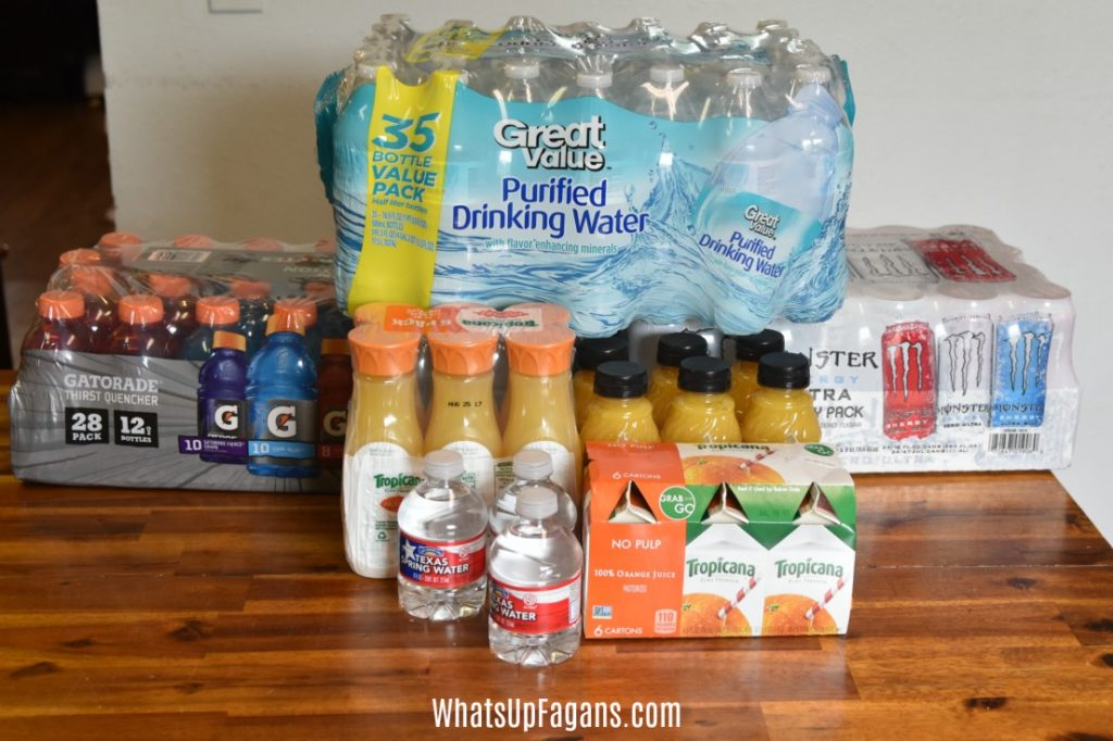 Drinks to pack for family road trip