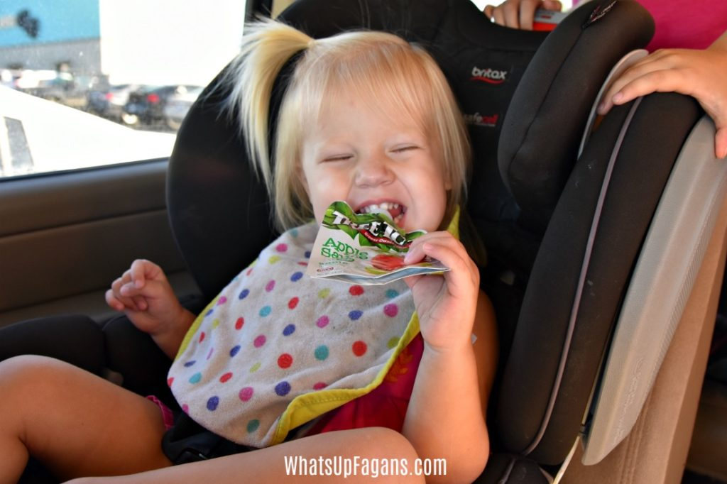 Ultimate Packing list of Food and Drink to bring on a long family road trip! Little kids, preschoolers, babies and adults will enjoy the list!