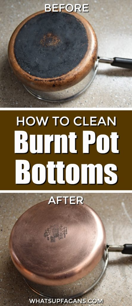 How To Clean A Burnt Pot Bottom