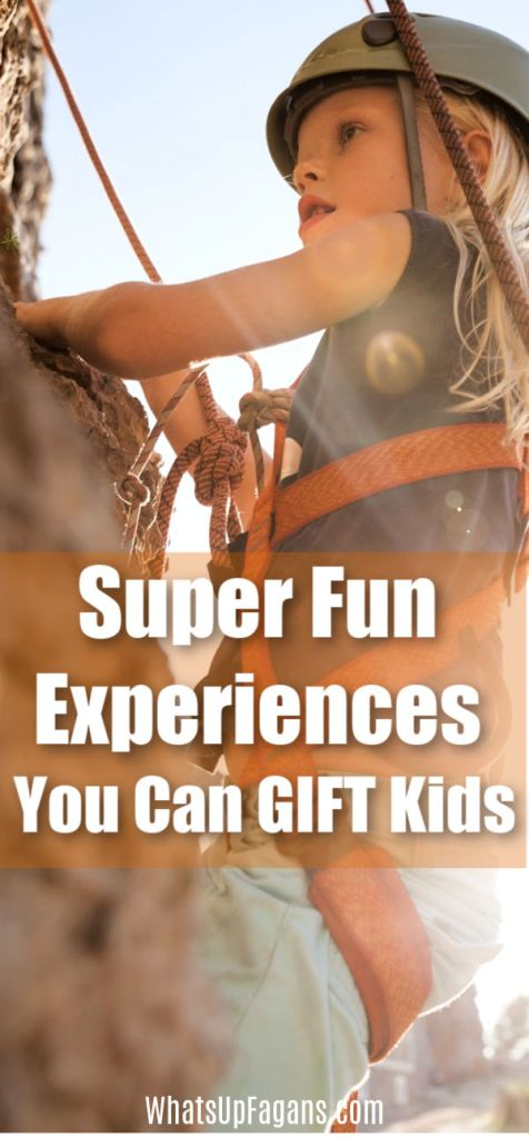 Amazing and fun adventure gift ideas for kids - boys and girls!