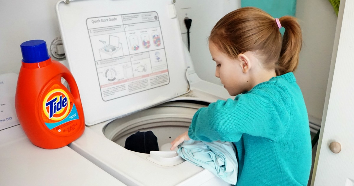 4117132cd The Age-By-Age Guide to Teaching Kids How to Do Laundry
