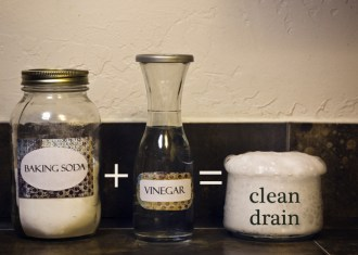 DIY Shower Drain Cleaner solution