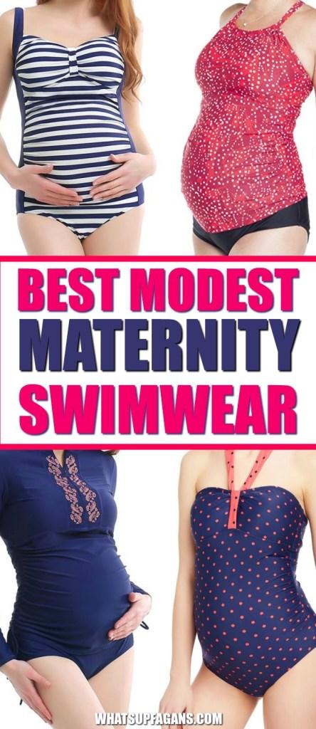 best modest maternity swimwear for pregnant women