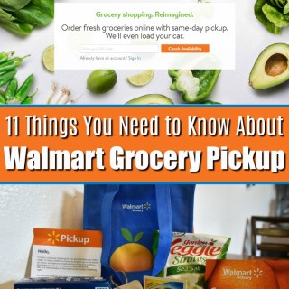 walmart grocery pickup - service review