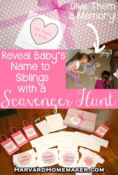 Ideas to Pull Off an Interactive Gender Reveal Scavenger Hunt