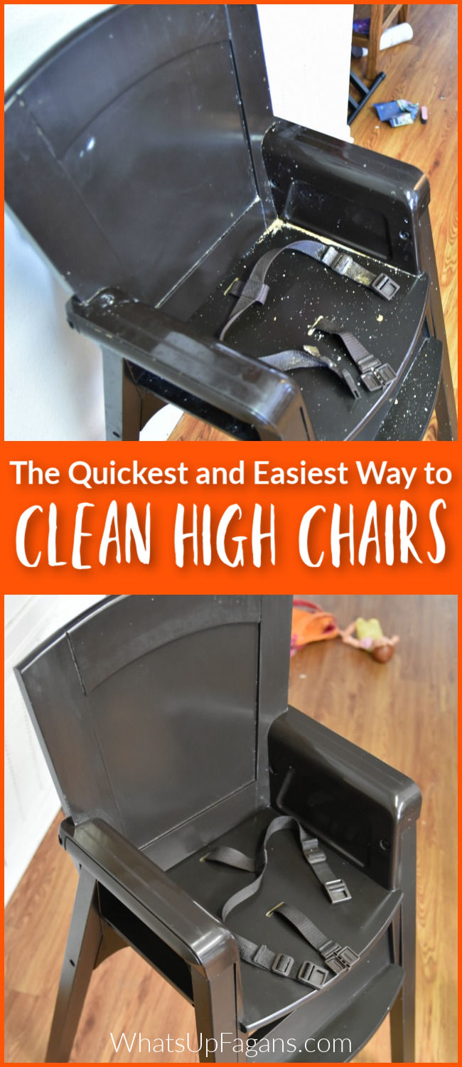SO THANKFUL FOR THIS!! Easy clean high chairs are hard to come by, but no matter what type of high chair you have, the following tutorial on how to clean high chair straps and how to clean high chairs will clean your high chair easily and save your fingers from scrubbing!Now I just need to get a steam cleaner. #cleaning #clean #highchair #highchairs #baby #babies #toddlers #babyfood #steamcleaner #steamclean