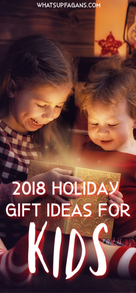 2018 holiday gift guide for kids - little girls opening christmas presents