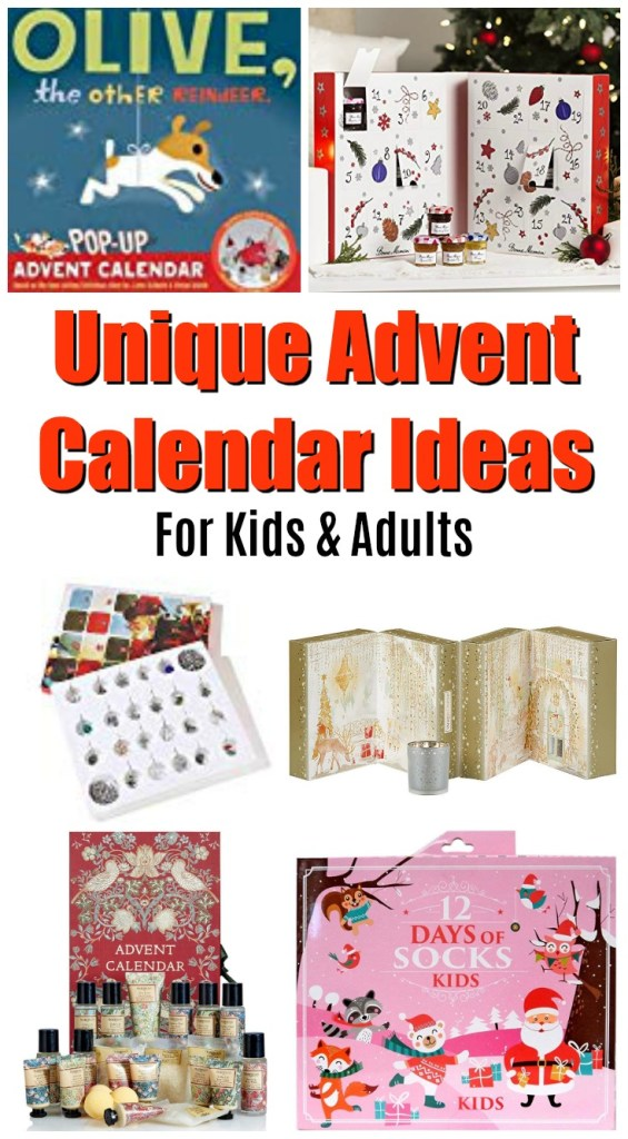 143d7746de 18 Unique Non-Candy Non-Toy Advent Calendars for Kids   Adults in 2018