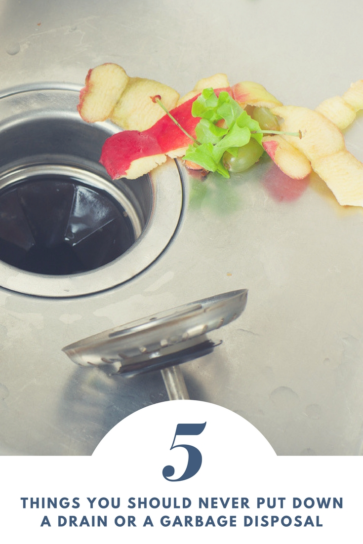 what not to put down a garbage disposal - 5 plus food and other items you should not put down a drain in your kitchen or elsewhere!! #kitchen #cleaning #kitchencleaning #cleaningtip #cleaninghack #kitchensink #garbagedisposal
