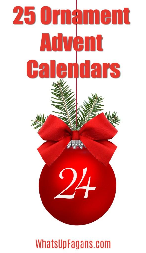 Christmas Advent Ornaments for Advent Calendar ideas