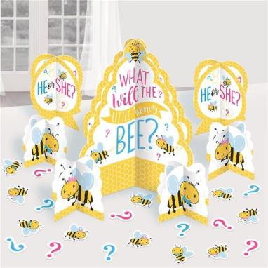 what will it bee gender reveal centerpieces
