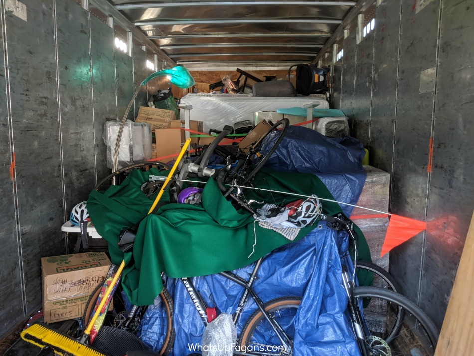 how to pack a Upack trailer to maximize the space and save you money.