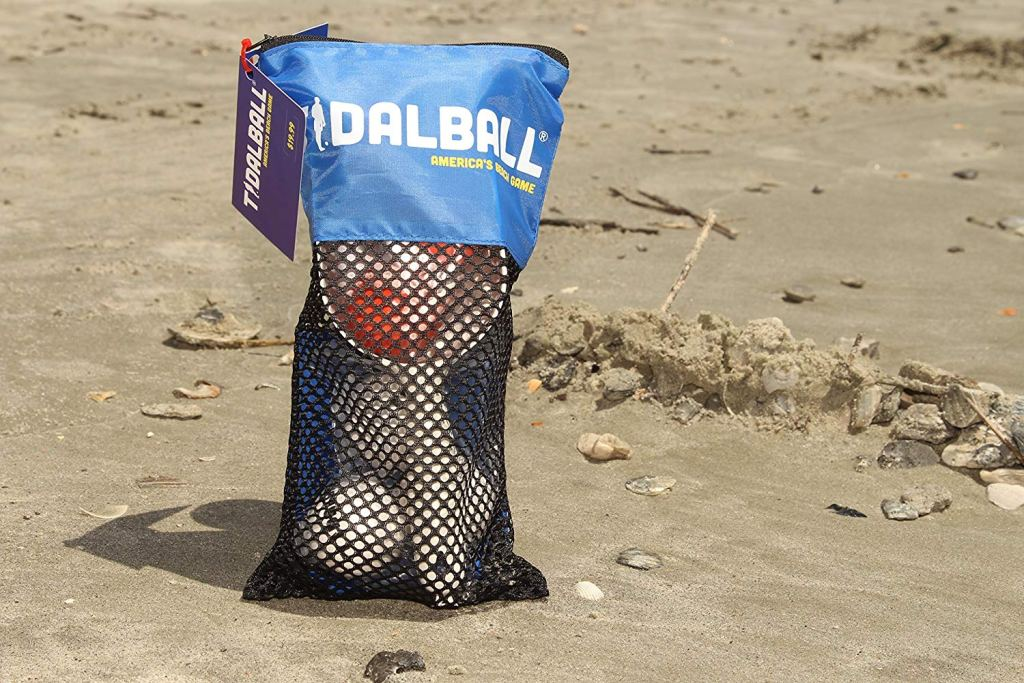 Tidal ball is a beach game for families and teens and adults and kids.