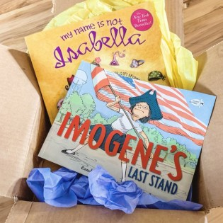 Preschool Book Subscription - monthly box of books for kids from Momo's Book Club