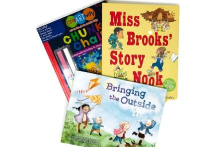 Our Little Book Club monthly box of books for kids