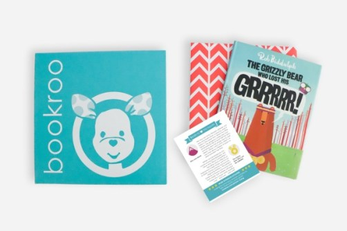Bookroo - one of the most popular monthly box subscription for kids aged baby to grade school thanks to their chapter books