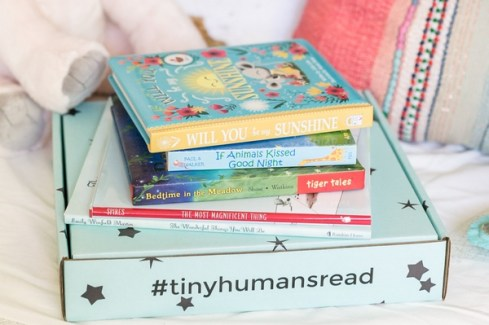 book subscription for toddlers from Tiny Humans Read