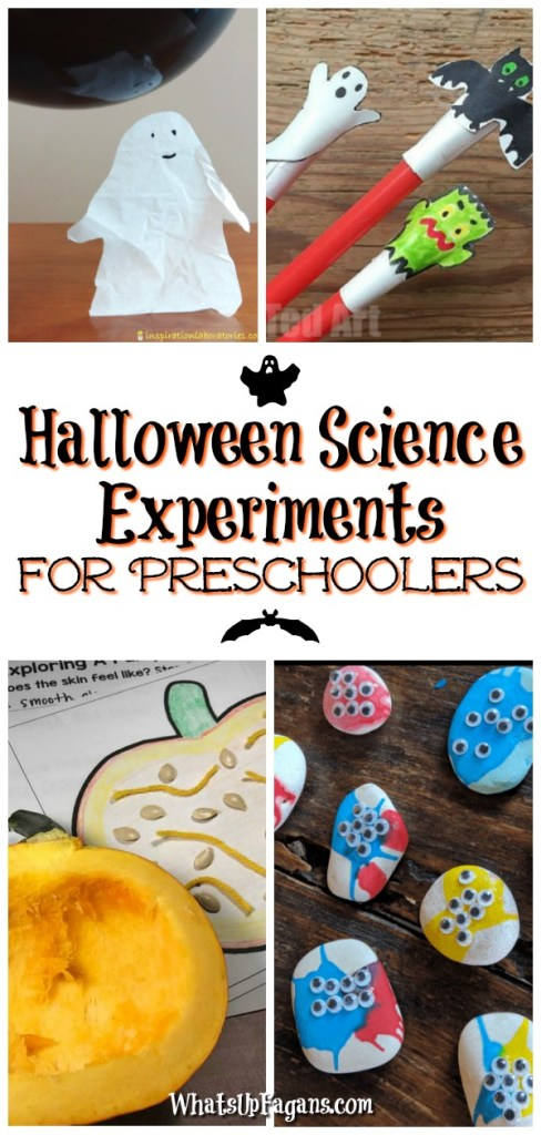 Super easy Halloween Science Experiments for preschoolers and elementary students! Love these for my homeschool for October.