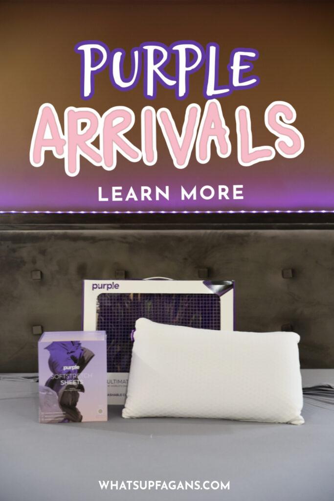 2021 purple review harmony pillow