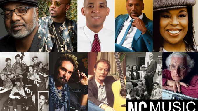 NC Music Hall of Fame to Hold Ceremony for 2020 & 2021 Inductees on Oct. 21