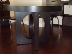West Elm Cutout Round Dining Table