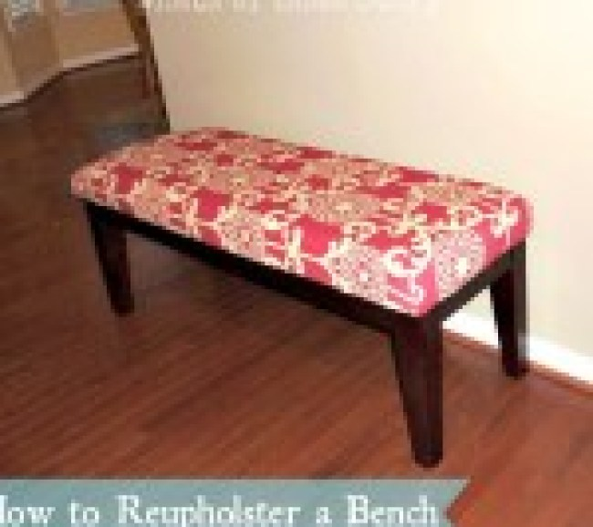 DIY Bench Makeover