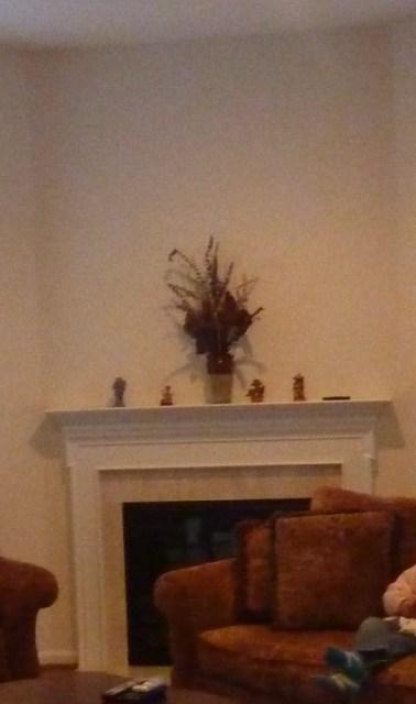 Simple Fireplace Mantel