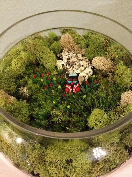 reader showcase diy fairy garden terrarium - Fairy Garden Terrarium